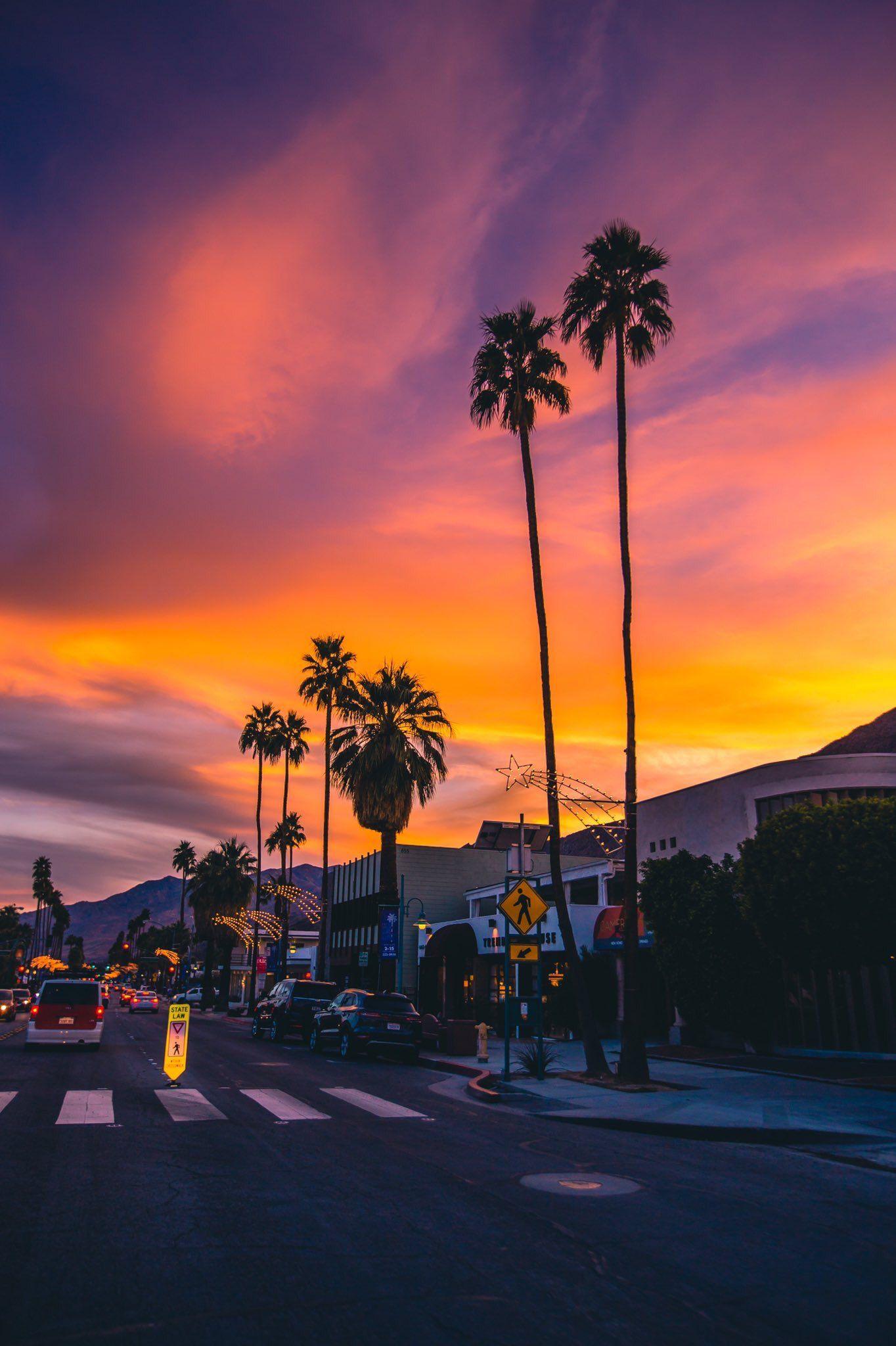 Iphone Aesthetic California Aesthetic Sunset Wallpaper 1364x2048
