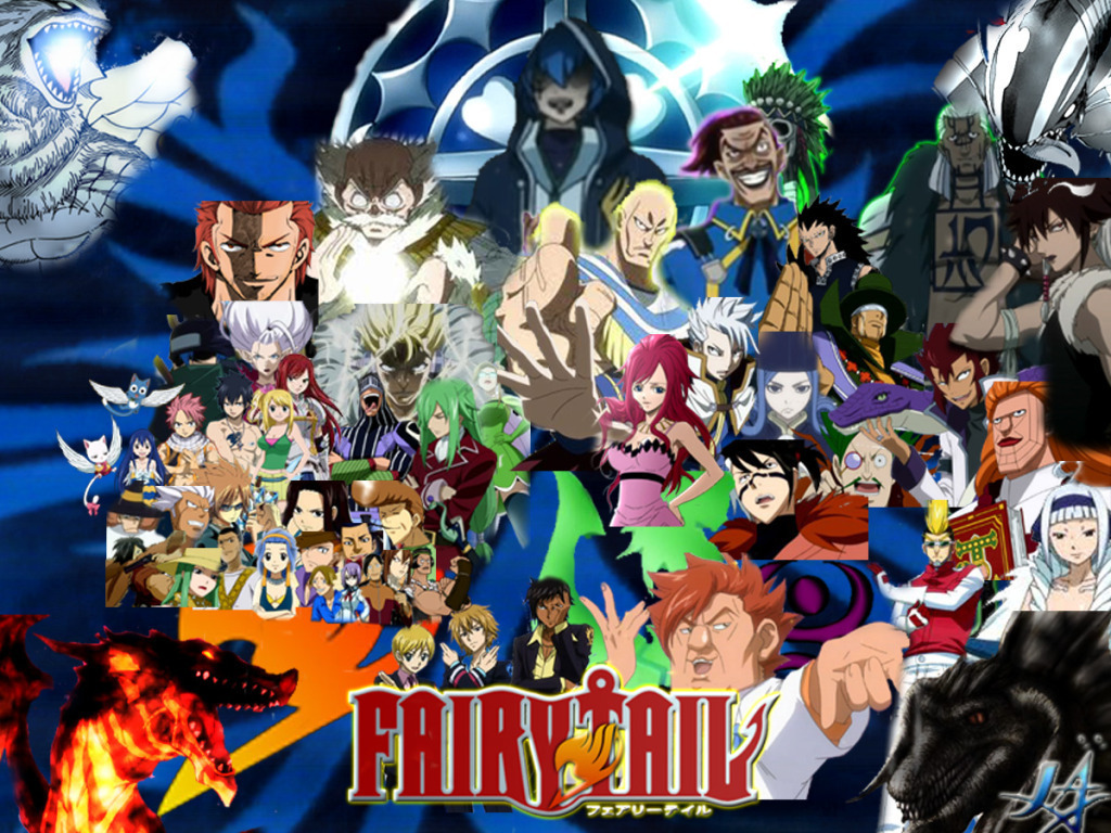 fairy tail   Fairy Tail Wallpaper 22443109 1024x768
