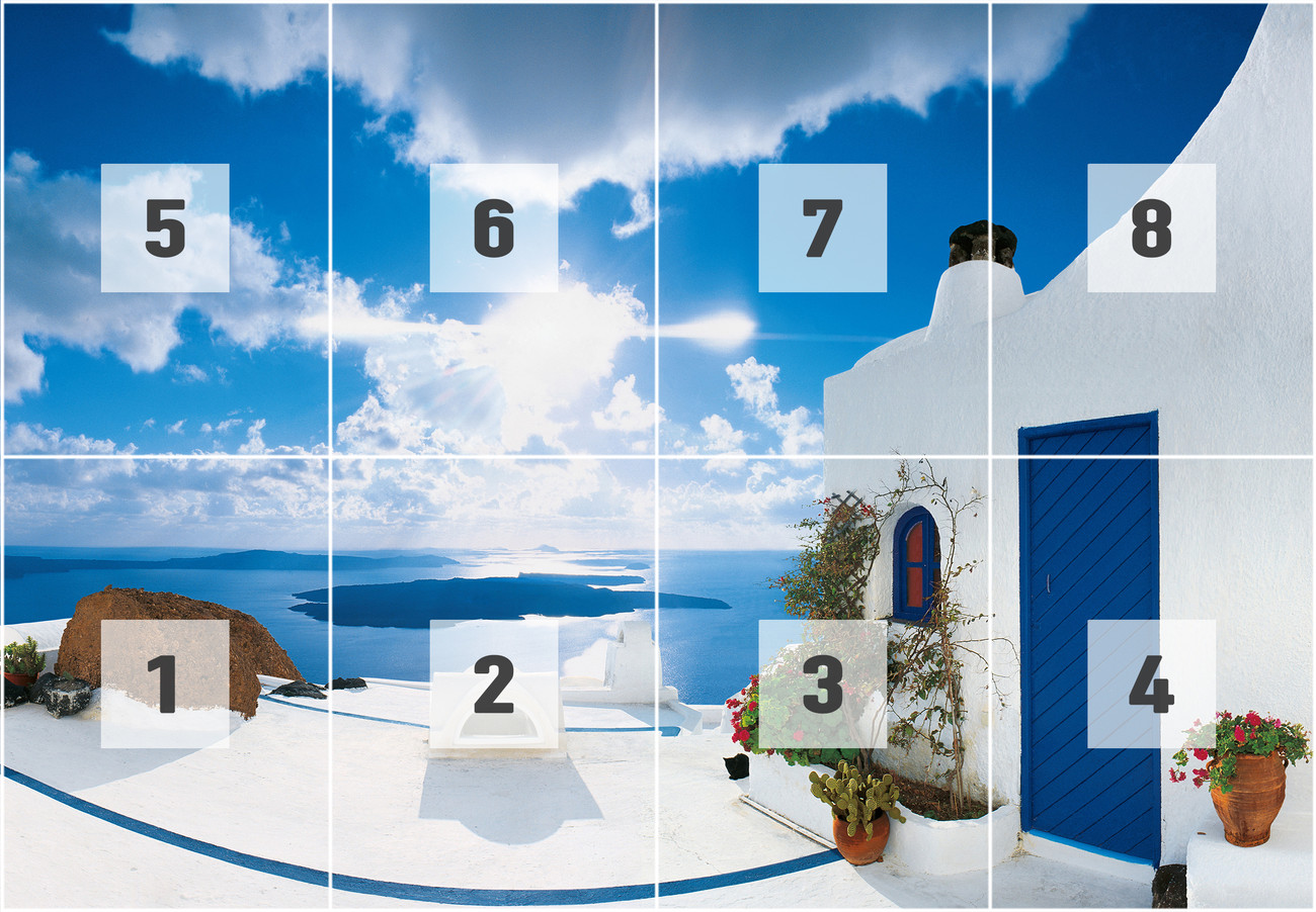 SANTORINI SUNSET   george meis Wall Mural Buy at EuroPosters 1300x902