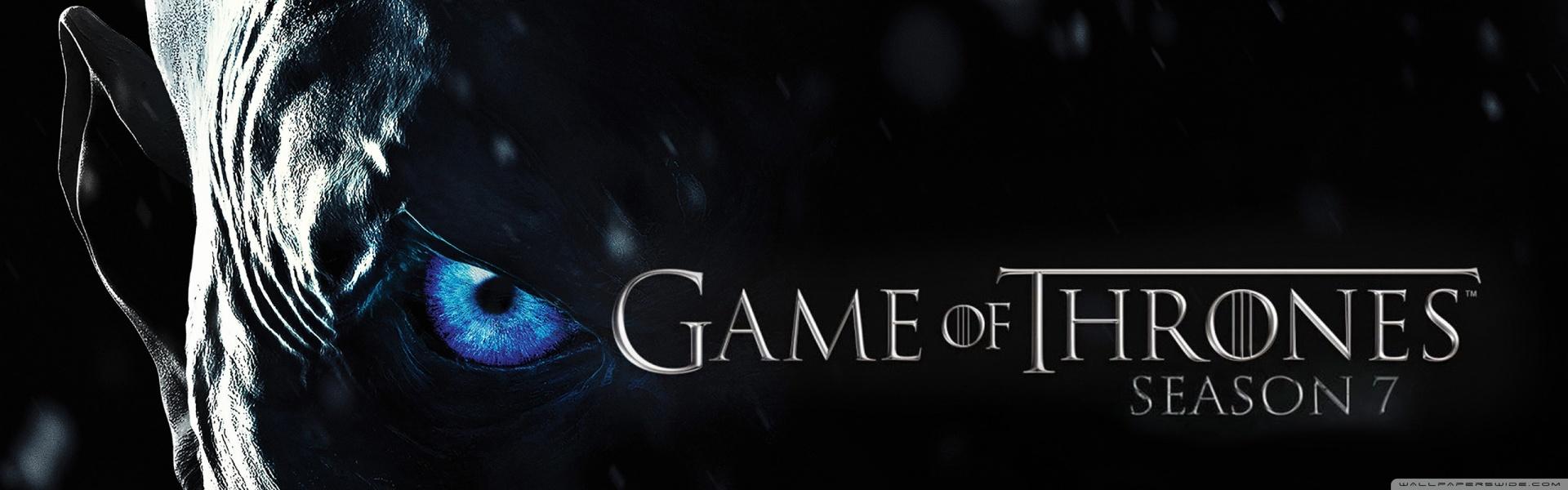 Game Of Thrones Season 7 4K HD Desktop Wallpaper for 4K Ultra 1920x600