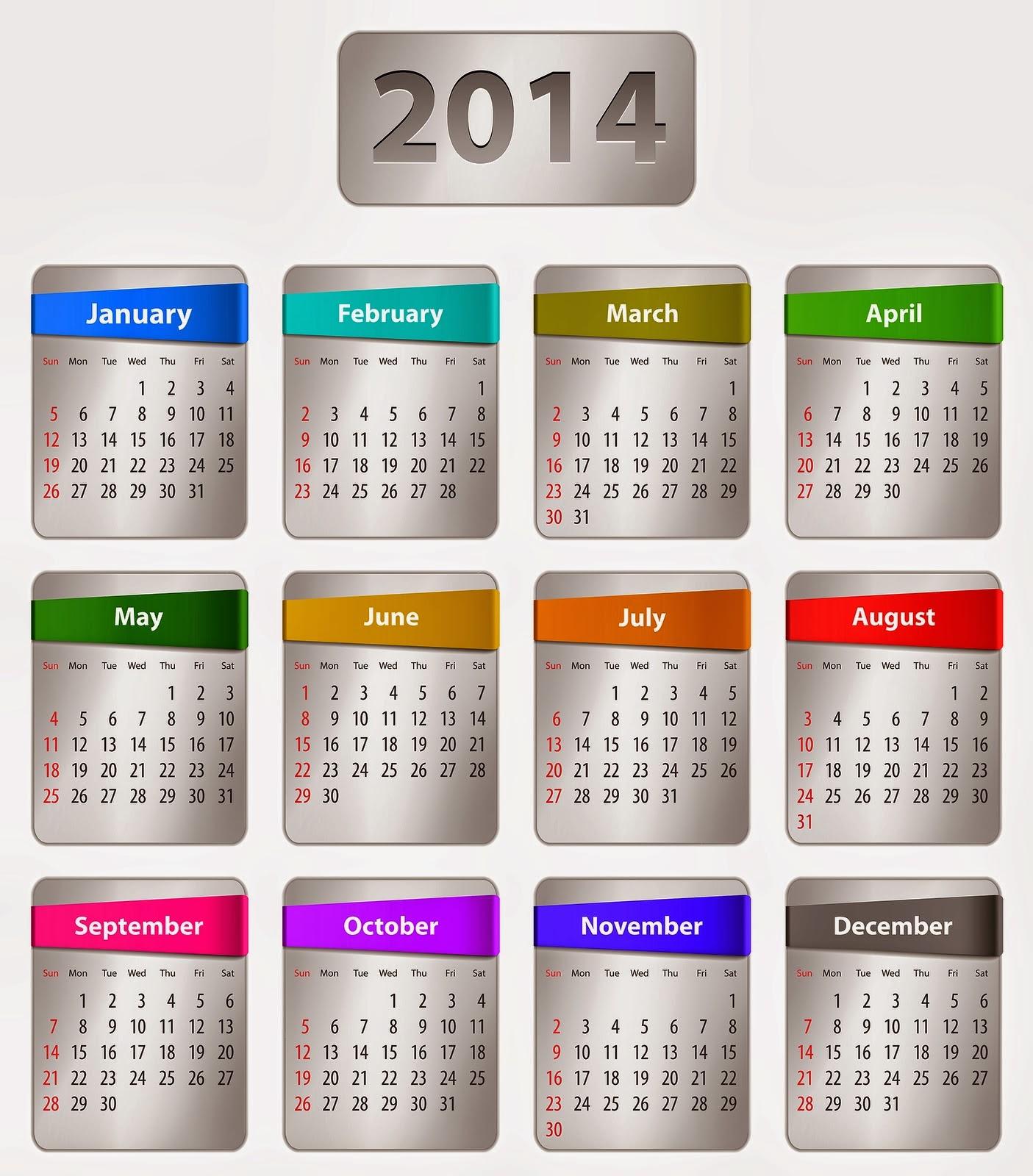 Desktop Wallpaper January 2014: Desktop Wallpaper Calendar Creator