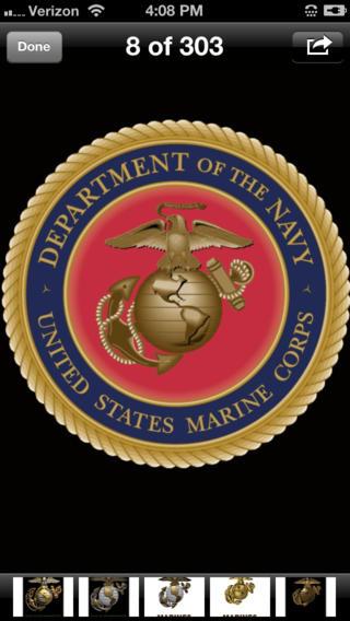 USMC Wallpaper Lite 320x568