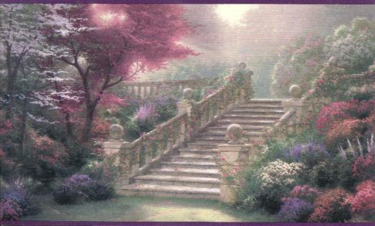 wallpaper inccomThomas Kinkade Stairway 525x317