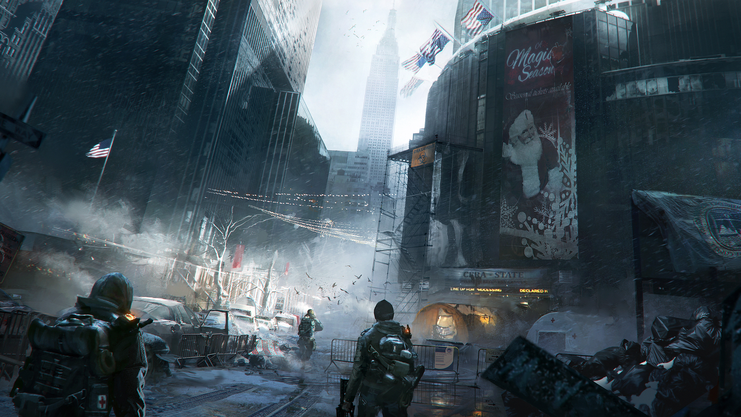 Amazing Tom Clancys The Division Wallpaper Full HD Pictures 2560x1440