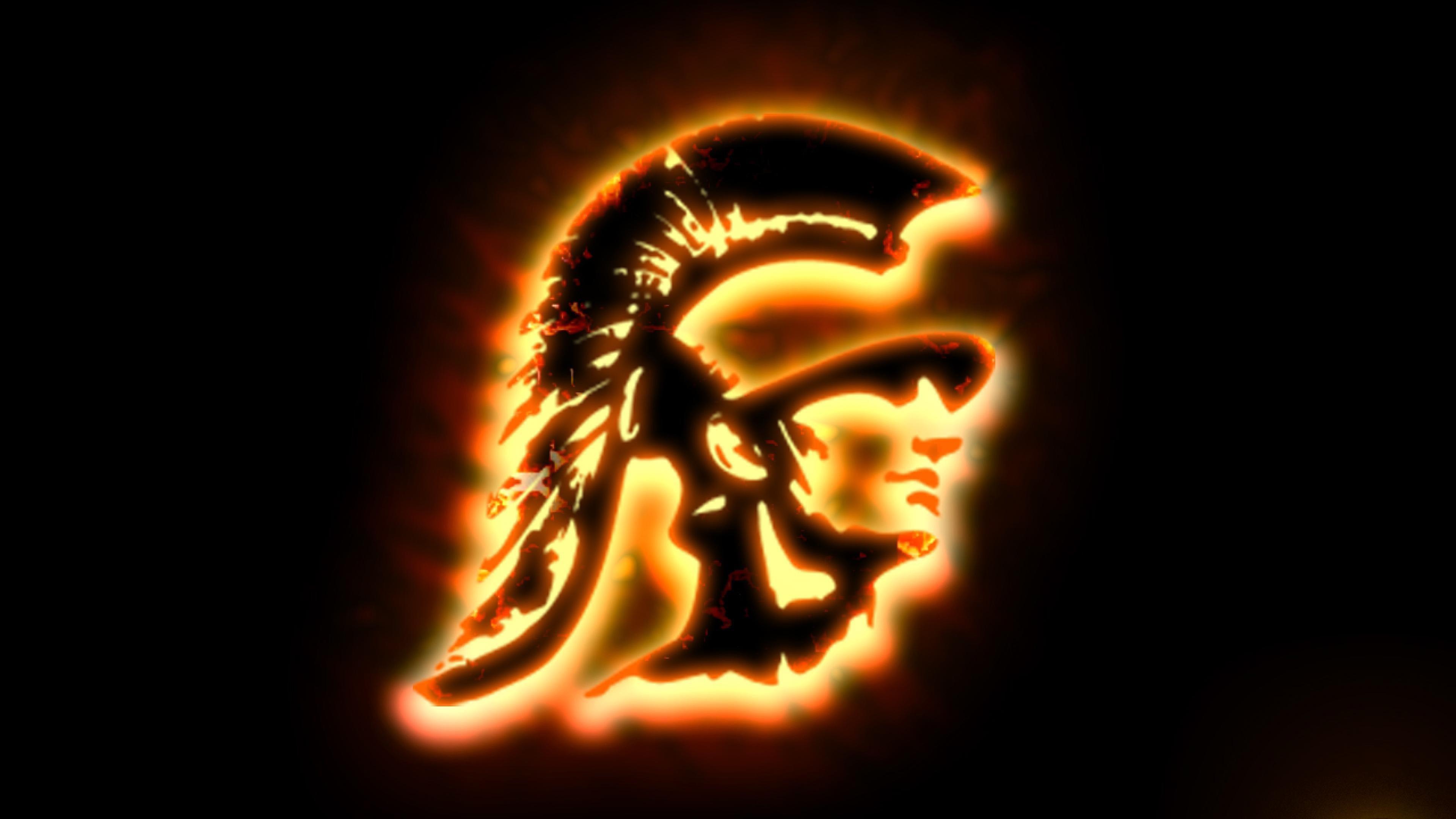Usc Trojans Football Logo Image 3840x2160