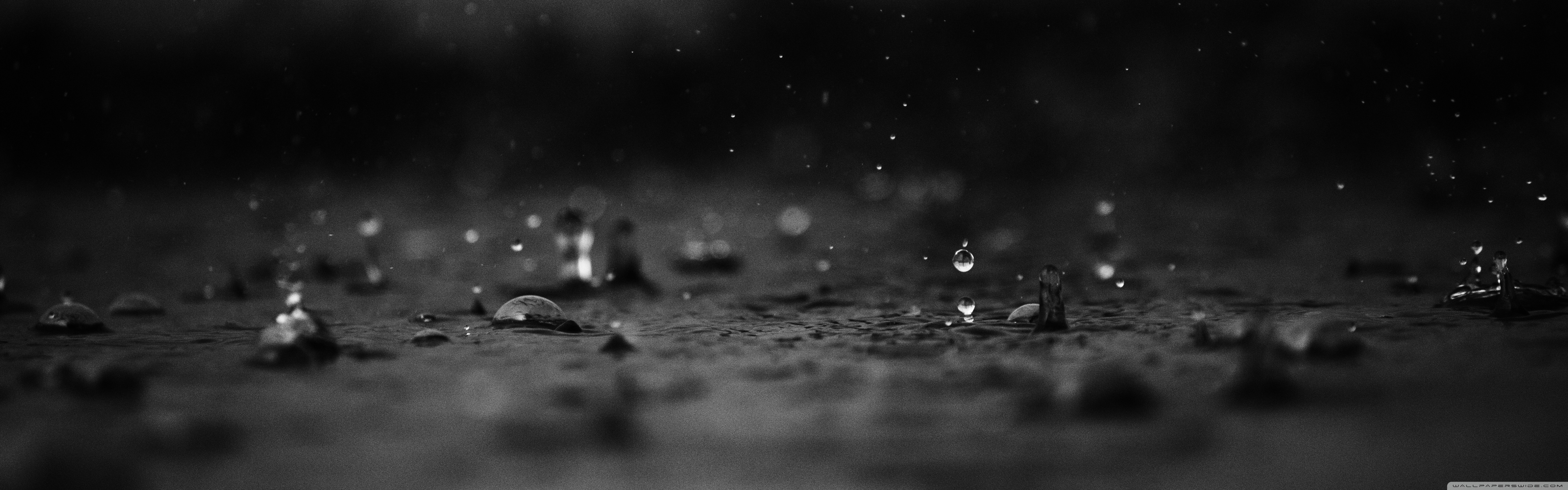 Rain Drops 4K HD Desktop Wallpaper for 4K Ultra HD TV Wide 5120x1600