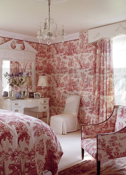 Bedroom Wallpaper With Matching Bedding