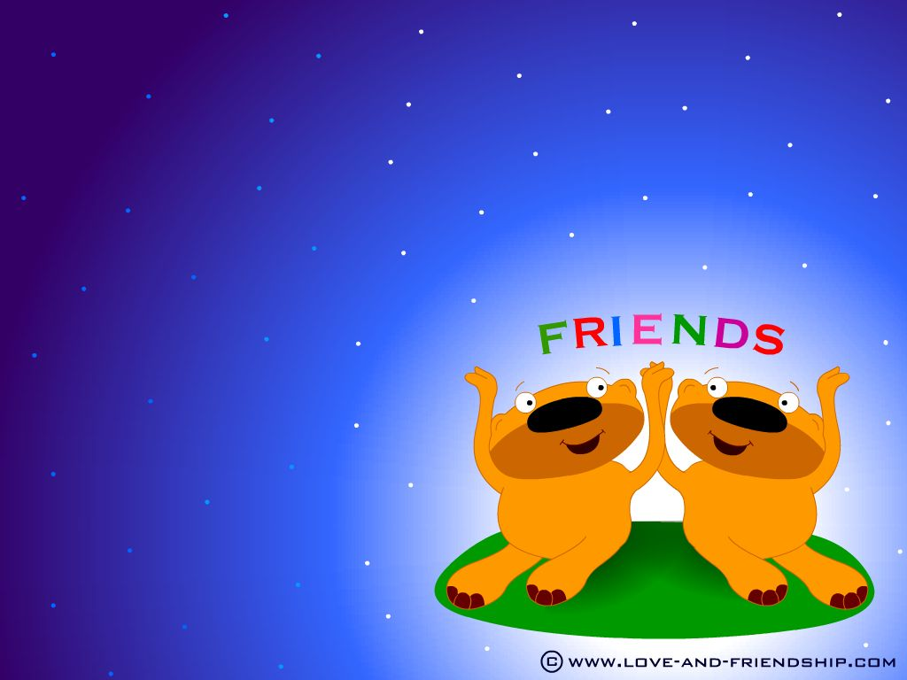 Wallpaper Friends 1024x768