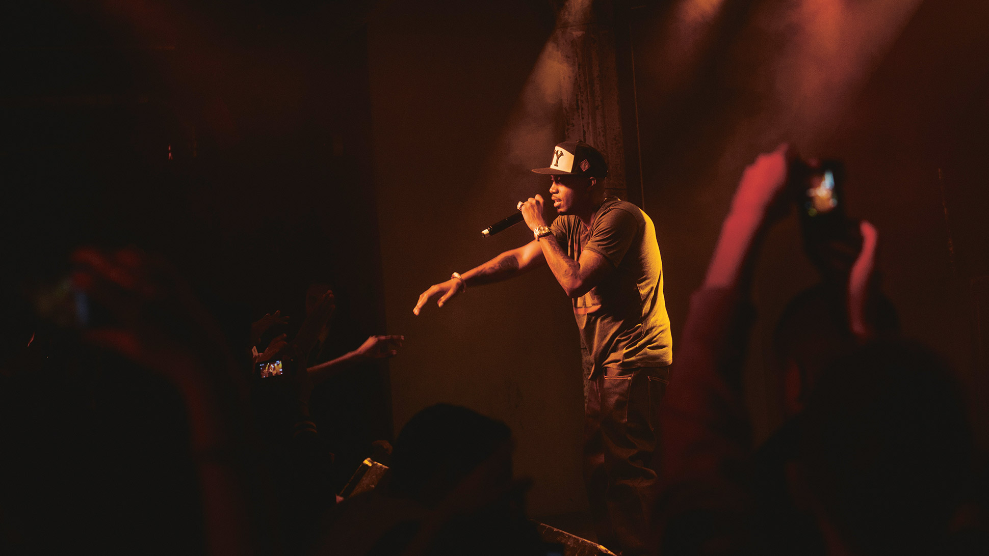 Nas Wallpaper Iphone Nas rapper rap hip hop concert 1940x1092