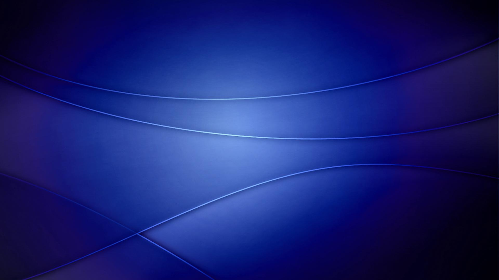 Deep Blue Lines Background For Windows 7 Widescreen and HD 1920x1080