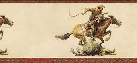 Cowboy Wallpaper Border   Wallpaper Border Wallpaper inccom 525x242