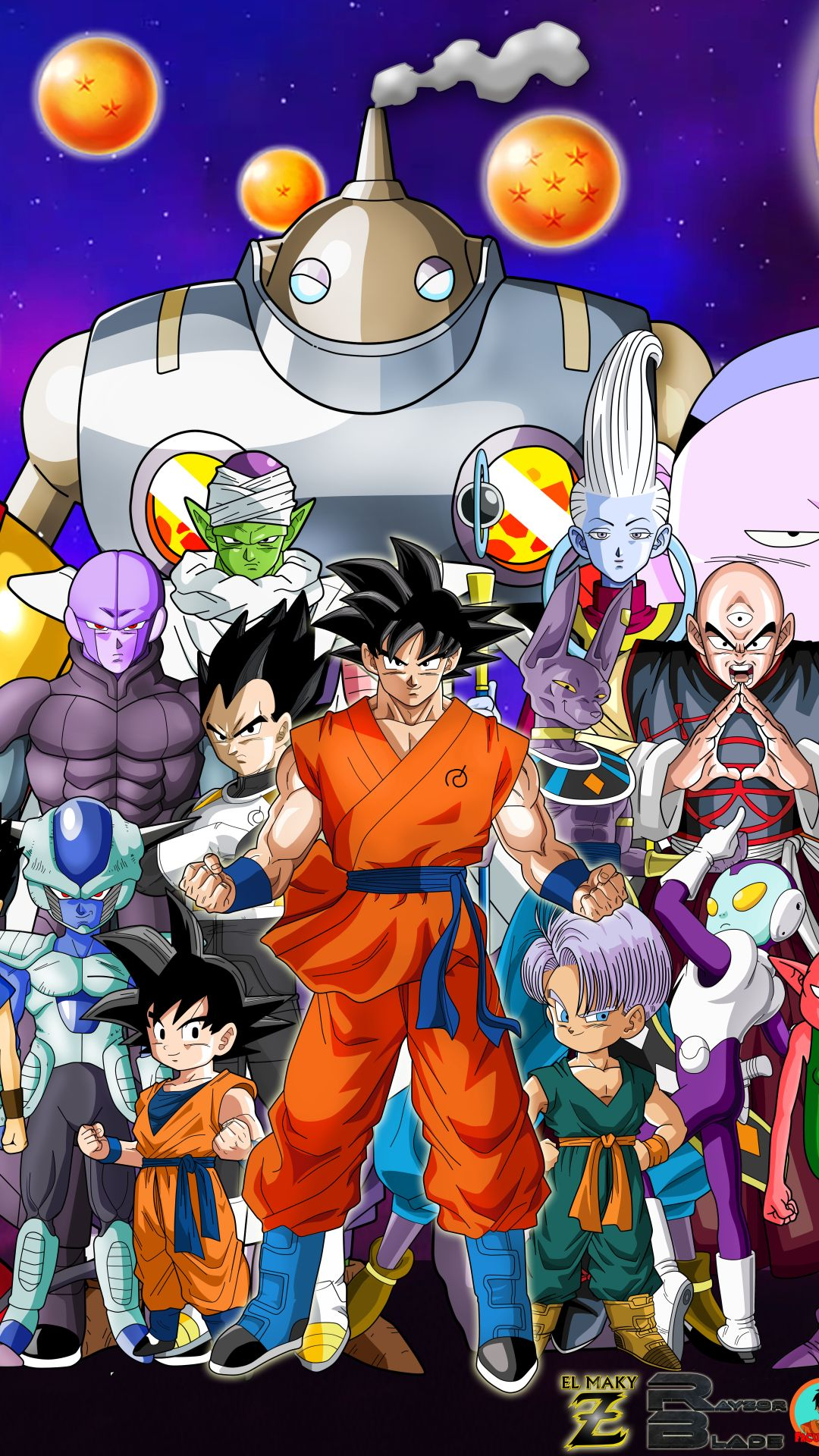 Dragon Ball Z iPhone Wallpapers   Top Dragon Ball Z iPhone 1080x1920
