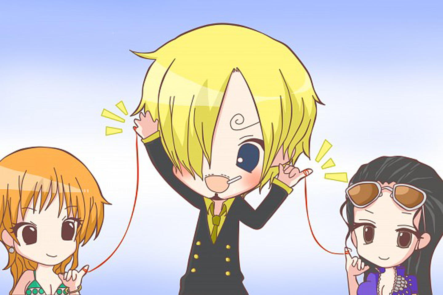 Chibi Sanji 2 Years Wallpaper   One Piece Anime Wallpaper 1440x960