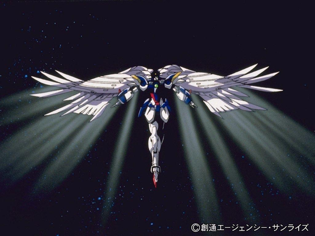 77 Gundam Wing Zero Wallpaper On Wallpapersafari