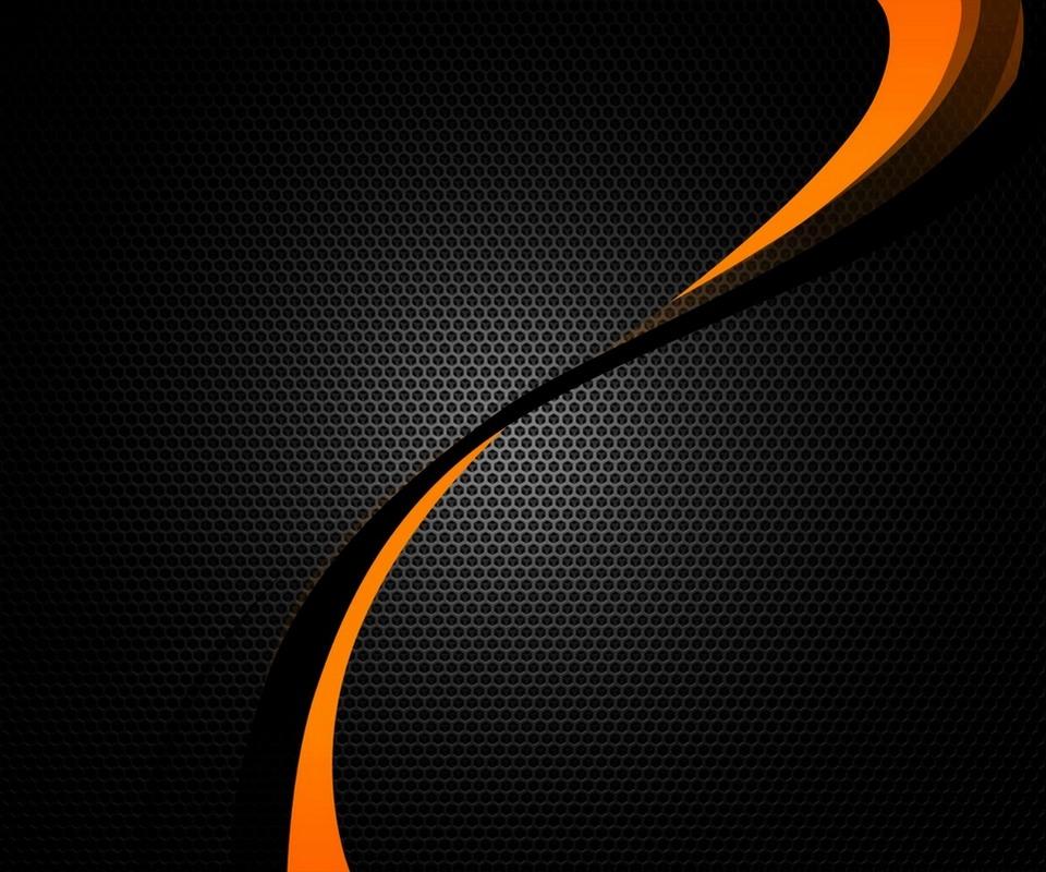 46 orange carbon fiber wallpaper on wallpapersafari - Black screensaver ...