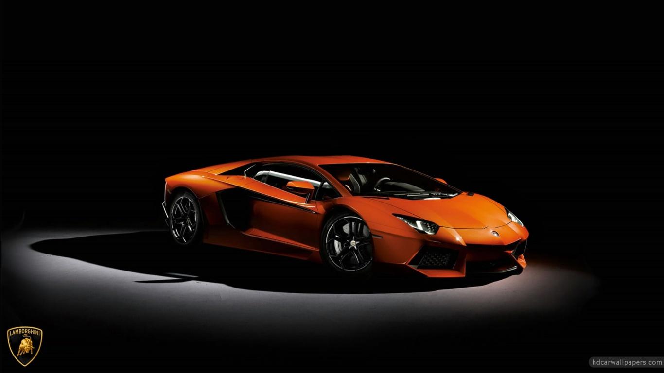 Free Download Lamborghini Aventador Hd Wallpaper In 1366x768