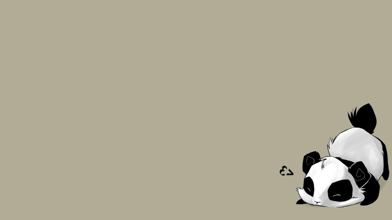 cute panda sketchpanda bear thread gopost all panda wallpapers 1366x768