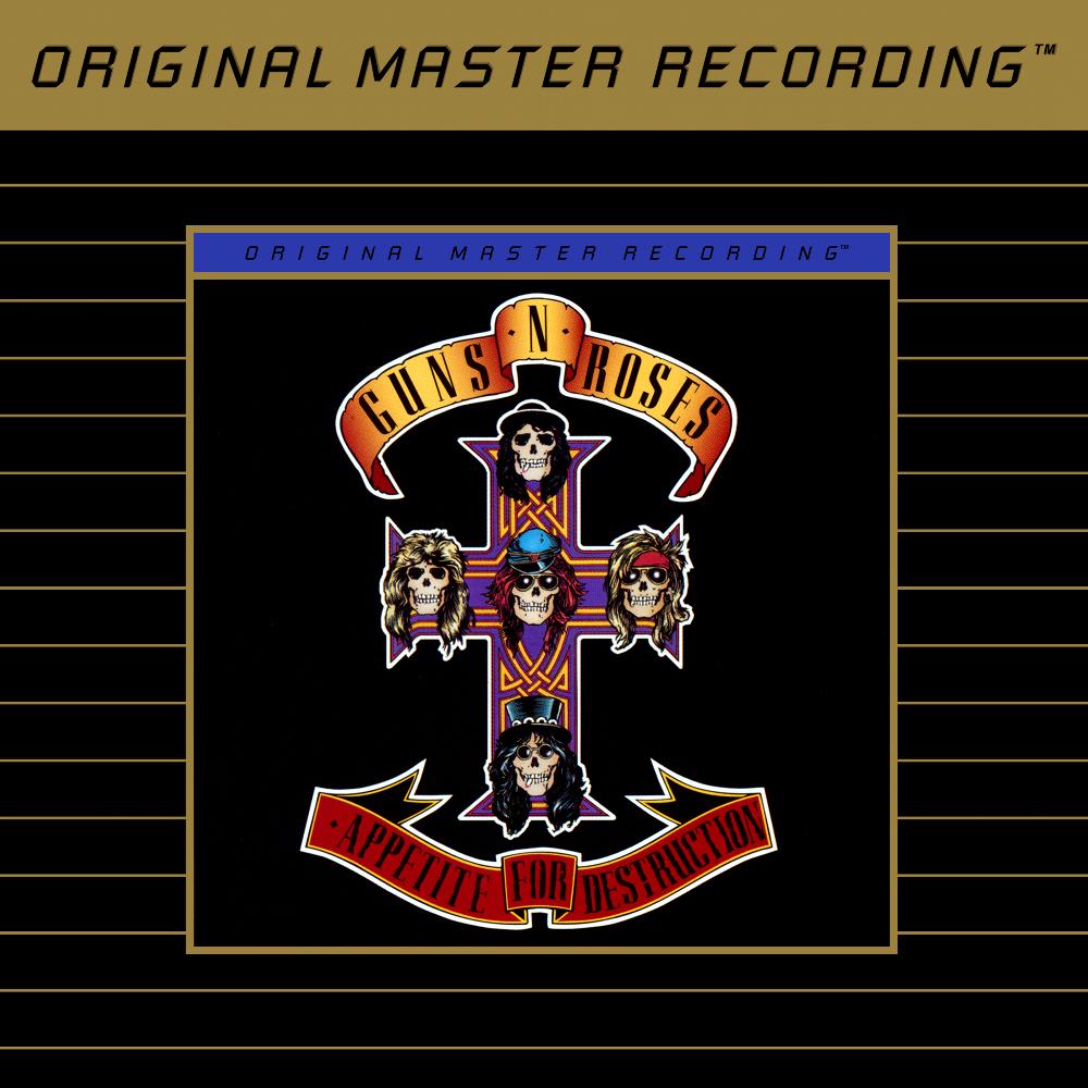 Guns N Roses Appetite for Destruction album cover 1000x1000