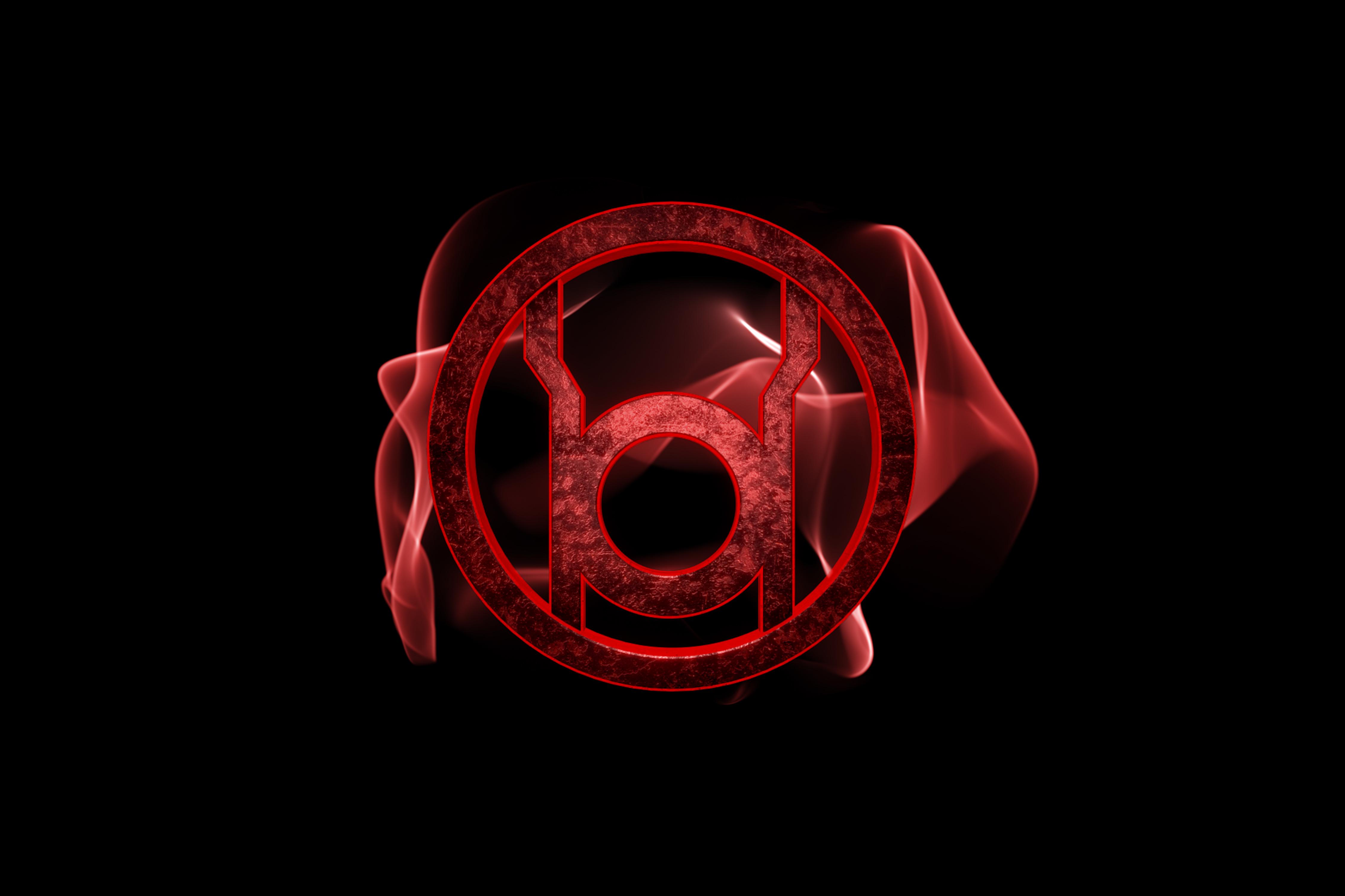 Red Lantern Glow 4500x3000