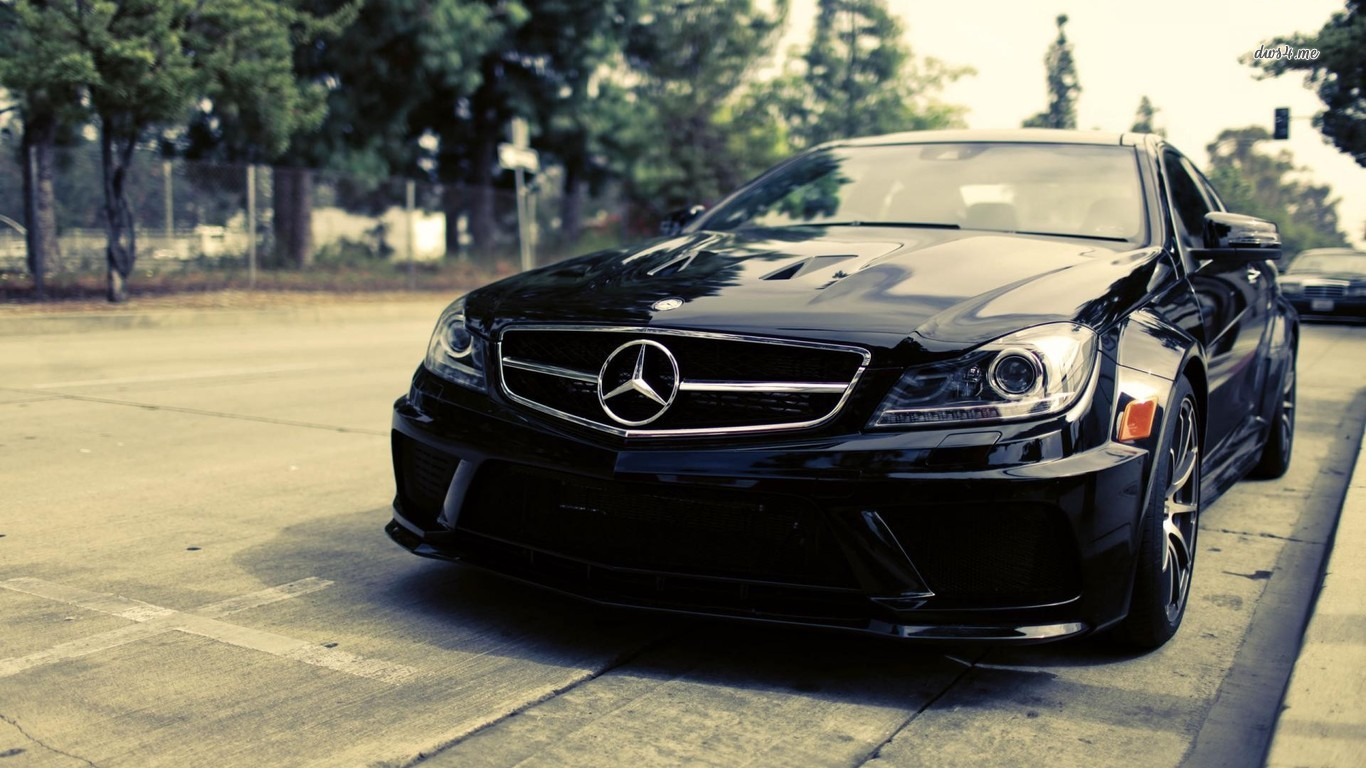 Mercedes Benz C63 AMG HD Wallpapers Backgrounds 1366x768
