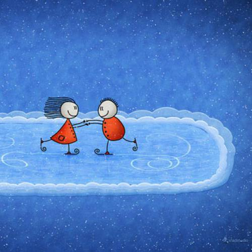 Related Pictures snoopy winter wallpaper 500x500