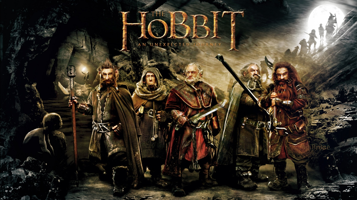 2012 The Hobbit An Unexpected Journey Wallpapers HD Wallpapers 1366x768