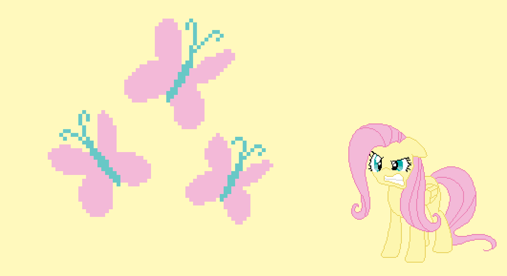 My Little Pony FiM   Fluttershy Wallpaper by CrizCamacho on 1024x559