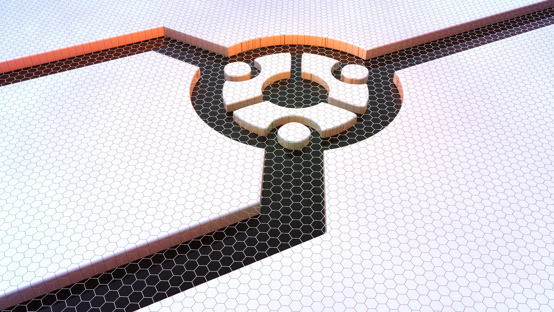 Ubuntu grid white 3d 1920x1080 1 1920x1080