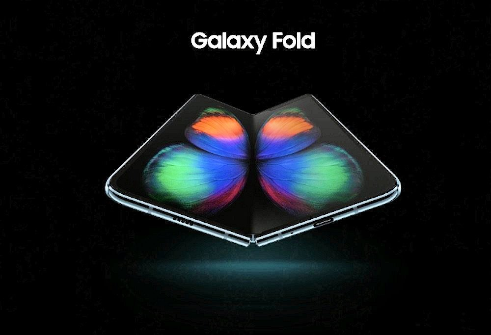 Get the amazing Samsung Galaxy Fold Live wallpapers on your 1000x683