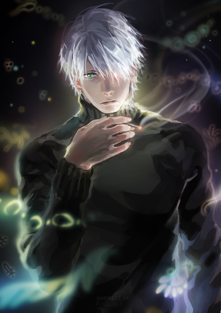 Mushishi   Ginko by JaneMere 707x1000