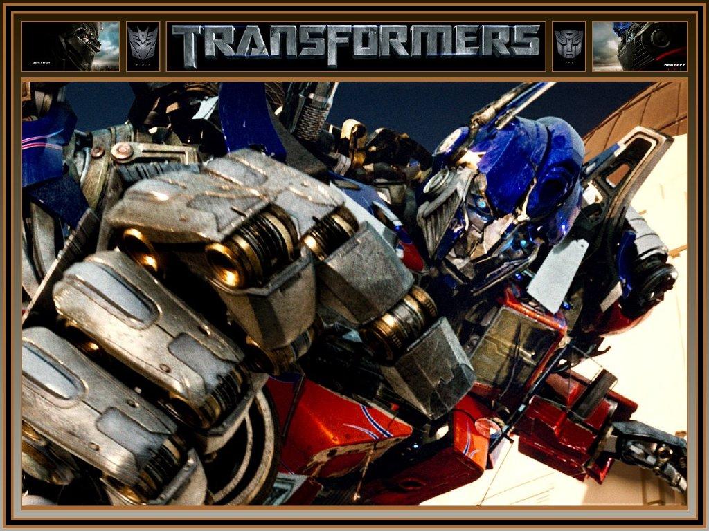 de Parede Grtis   Papel de Parede de Filmes Transformers   Optimus 1024x768