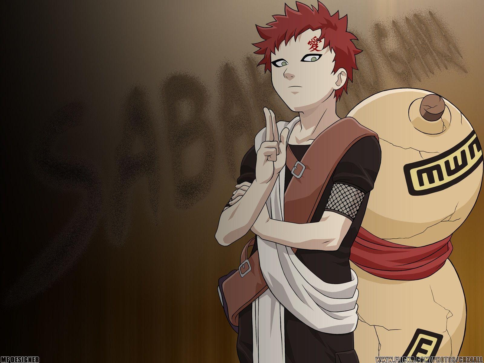 Naruto And Gaara Wallpapers 1600x1200