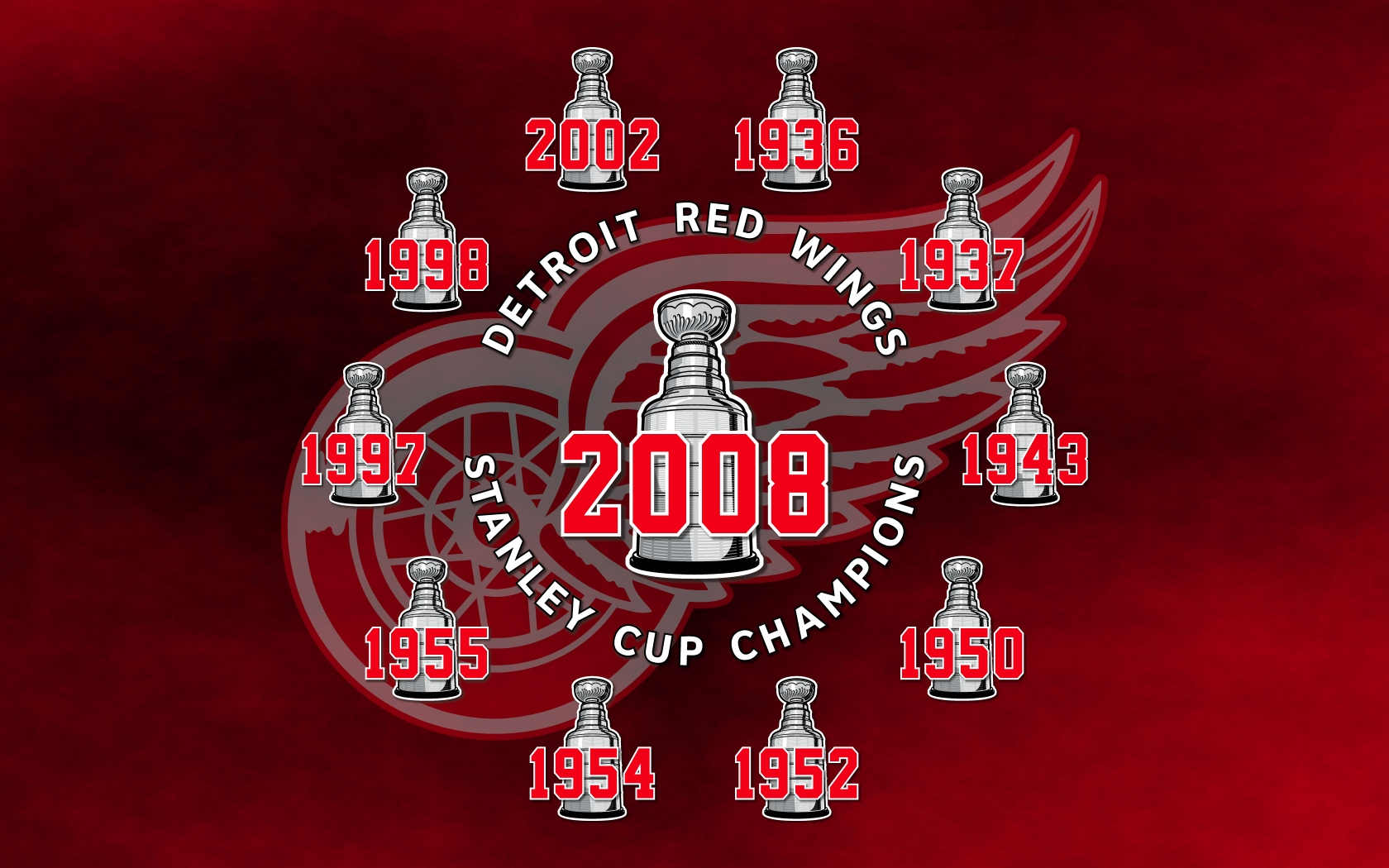 Detroit Red Wings wallpapers Detroit Red Wings background 1680x1050