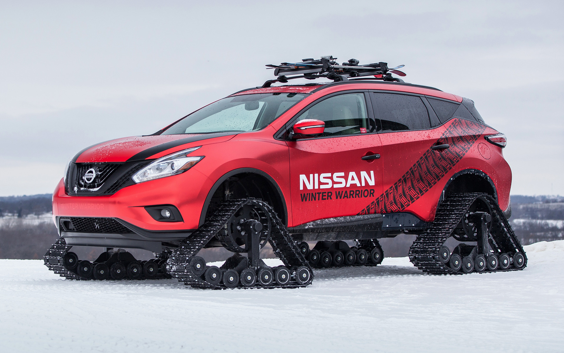 2016 Nissan Murano Winter Warrior Concept   Wallpapers and HD 1920x1200