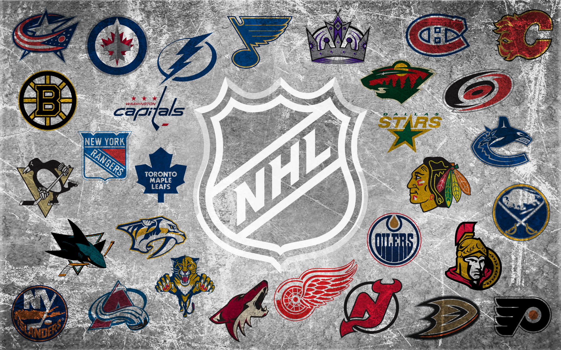 Nhl Team Logos Wallpaper Nhl team logo 2 0 by 1920x1200