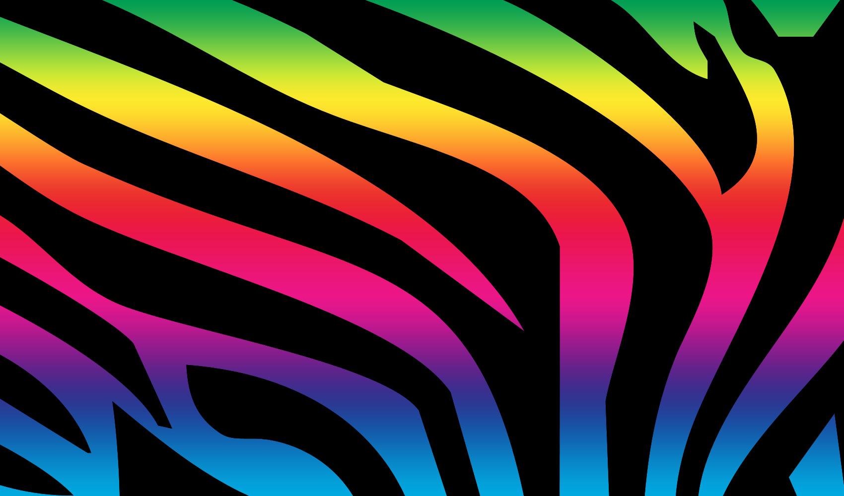 45 Rainbow Zebra Wallpaper On Wallpapersafari