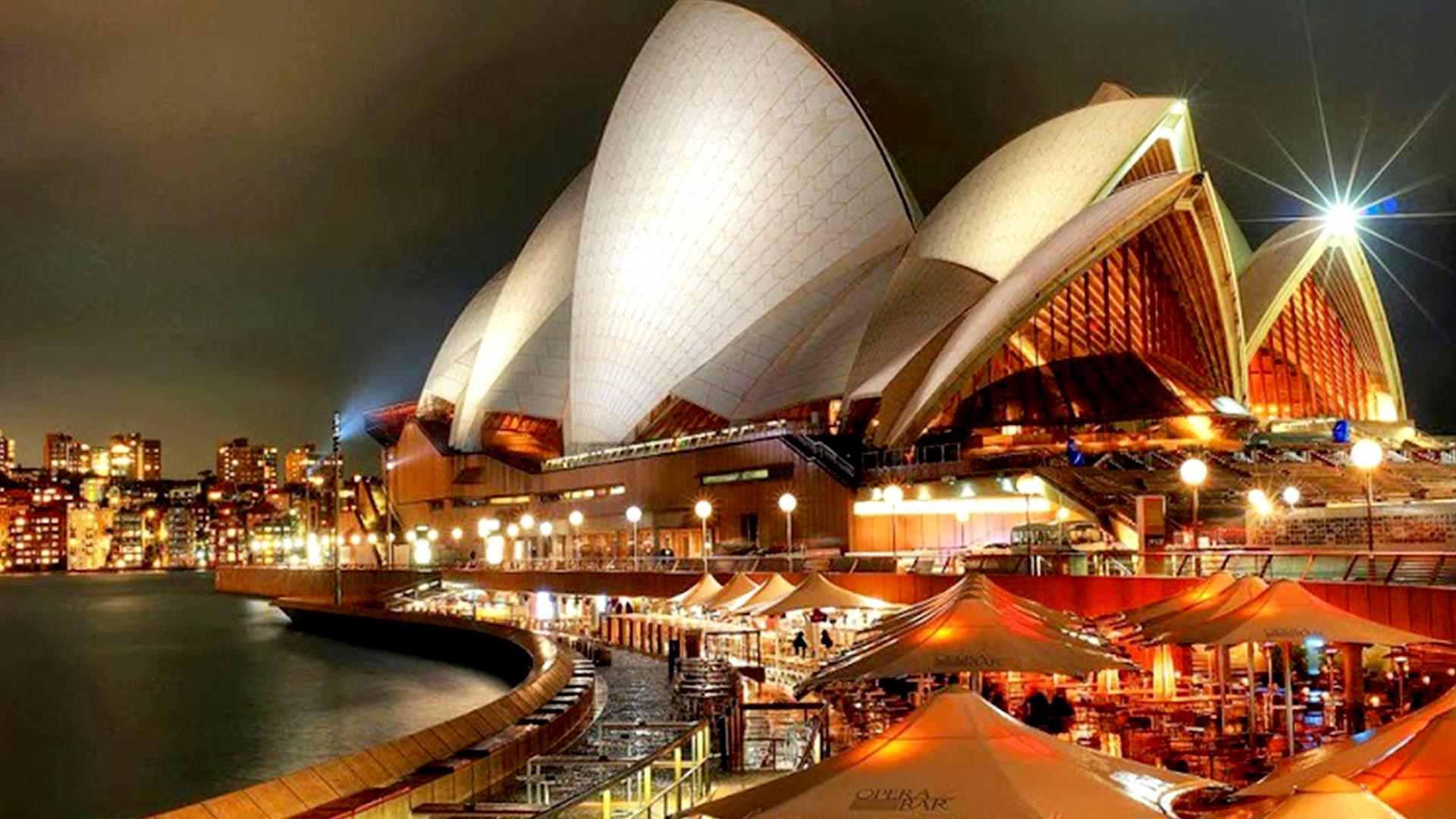 Pics Photos   Sydney Opera House Wallpaper 1920x1080