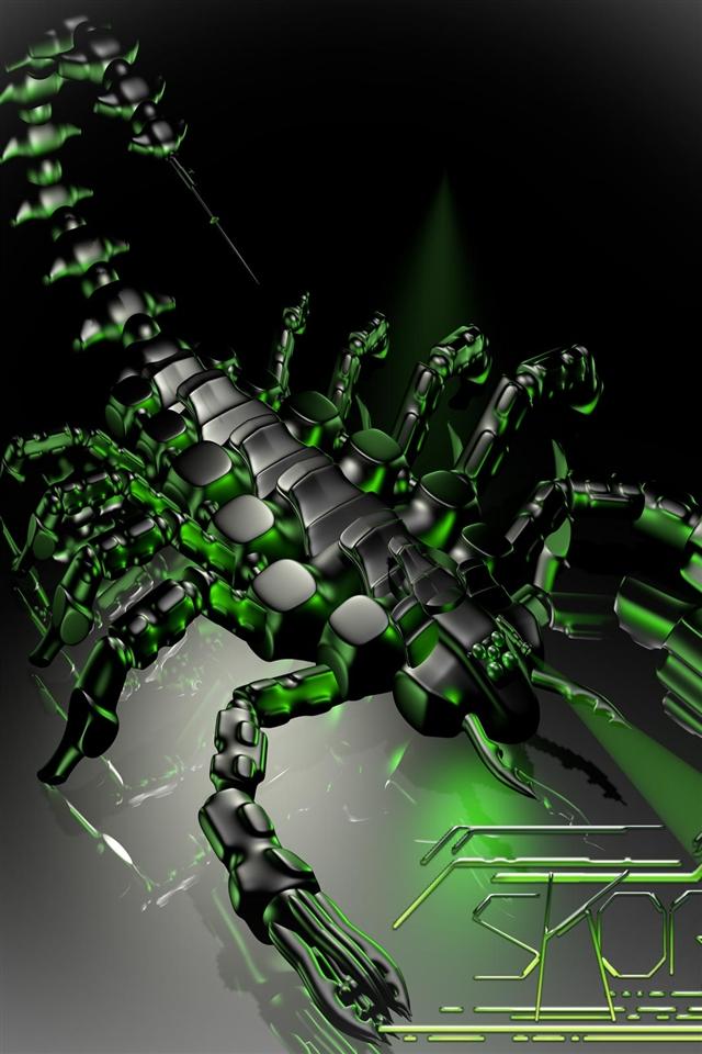 Scorpion Wallpaper for iPhone wallpaper Scorpion Wallpaper for 640x960