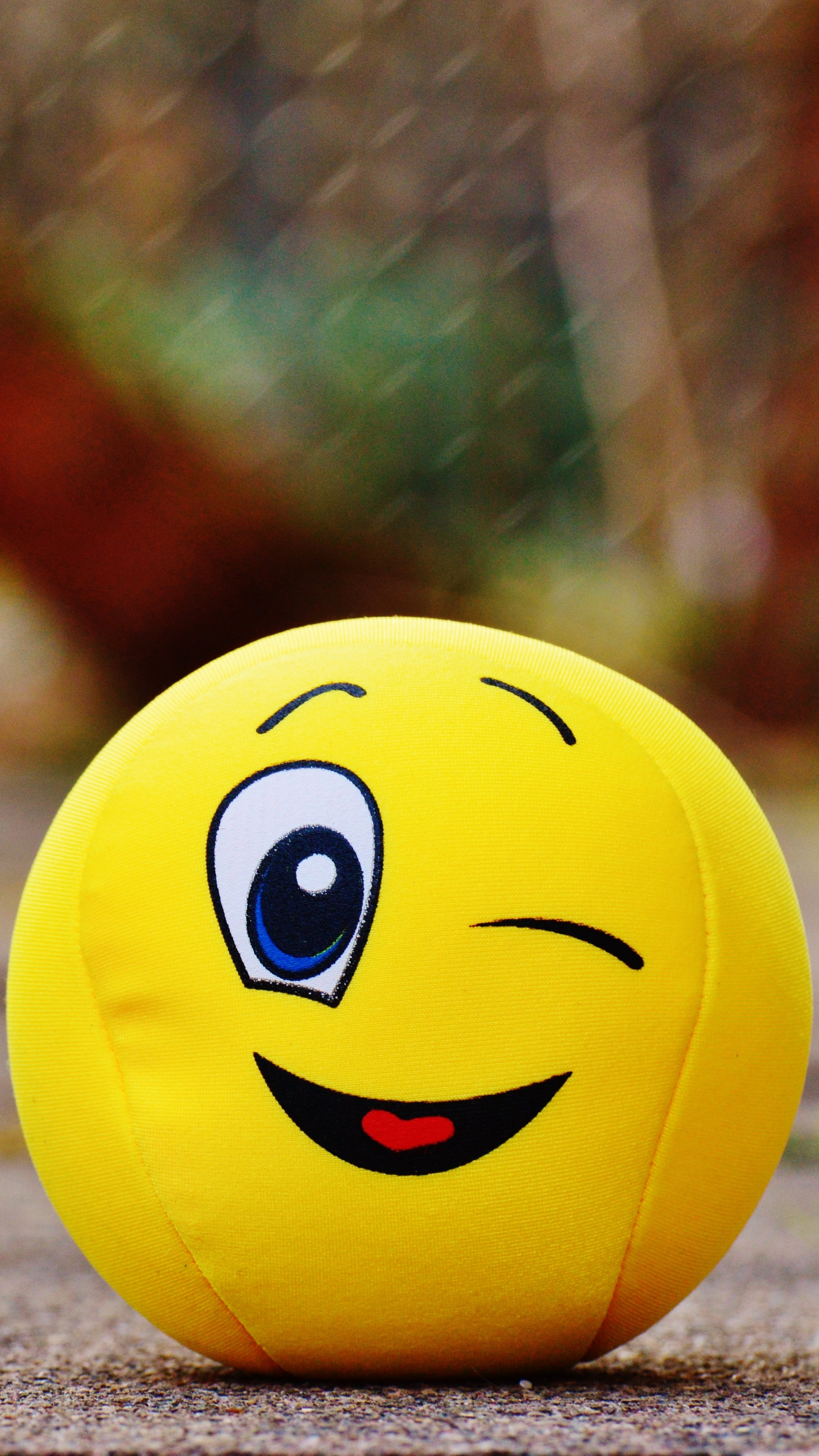 Free Download Download Wallpaper 2160x3840 Ball Smile Happy Toy Samsung 2160x3840 For Your Desktop Mobile Tablet Explore 28 Wallpaper Hd Smiley Ball Wallpaper Hd Smiley Ball Smiley Ball Wallpaper