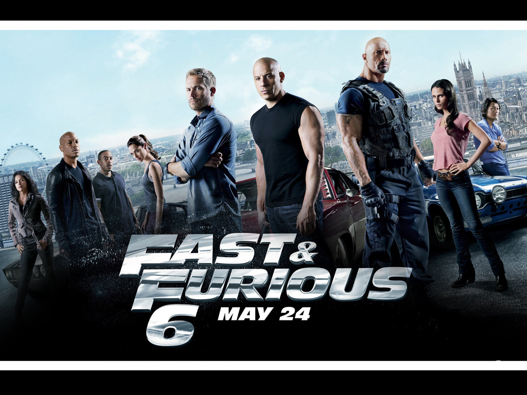 Fast and Furious 6 HQ Movie Wallpapers Fast and Furious 6 HD Movie 1024x768