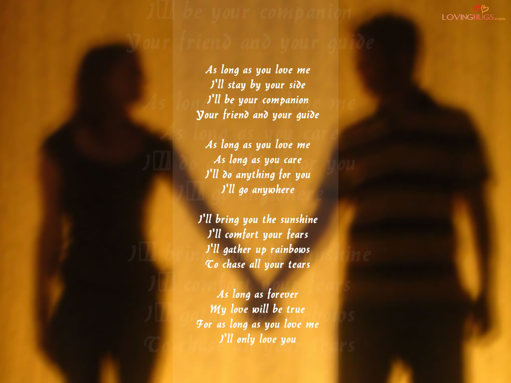 you poem wallpaper i love you wallpapers i love you wallpaper poem 1024x768