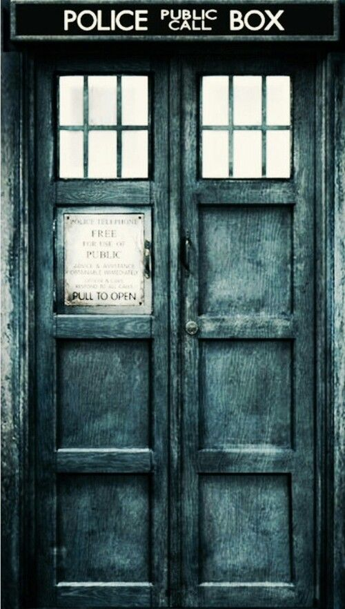 Doctor who tardis door Silence will fall Pinterest 500x882