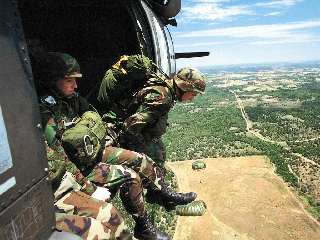 Accueil wallstock militaire parachutistes us 1024x768
