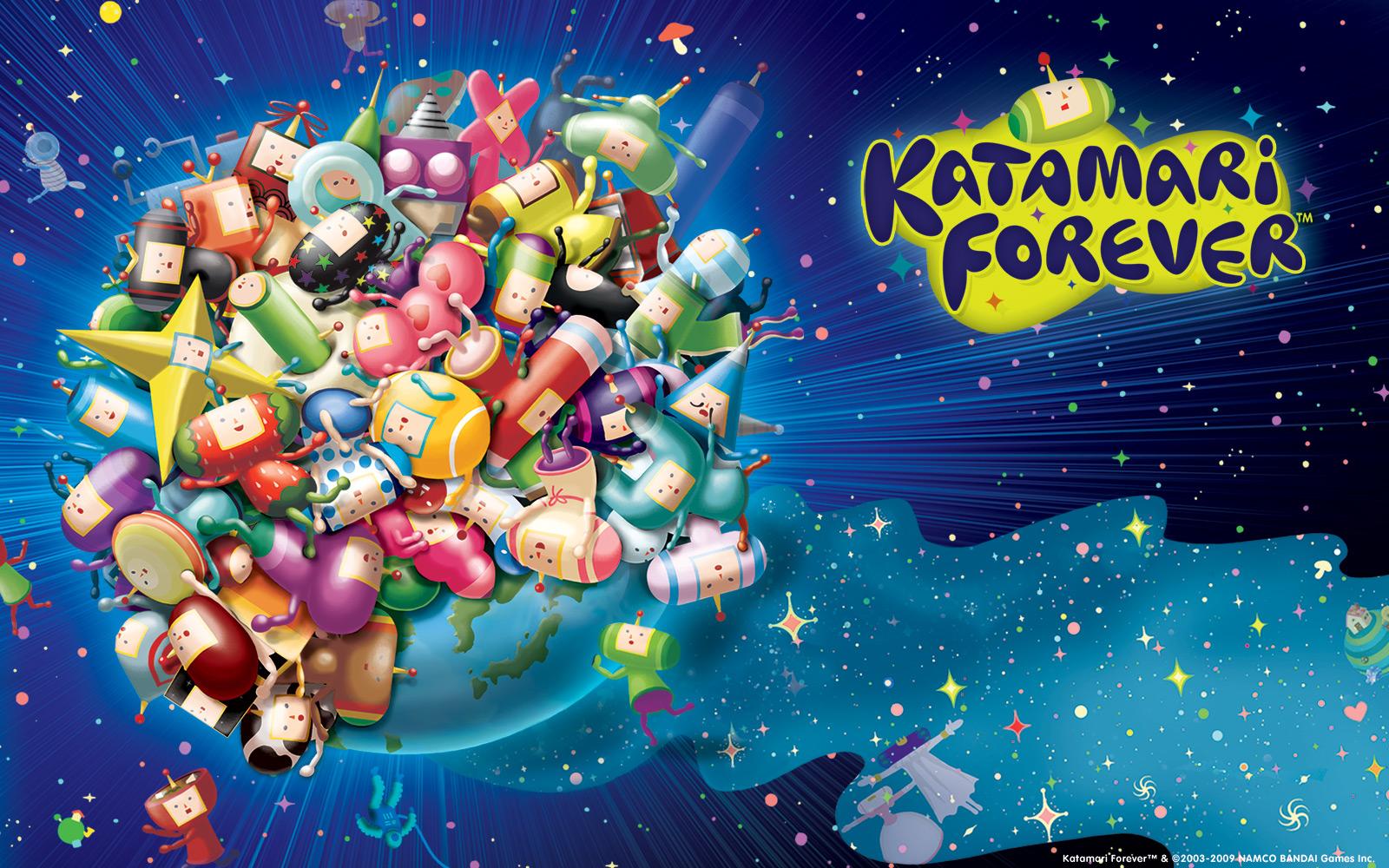 Katamari Forever wallpaper 1600x1000