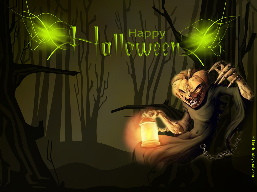 HD Scary Halloween Wallpaper 1024x768
