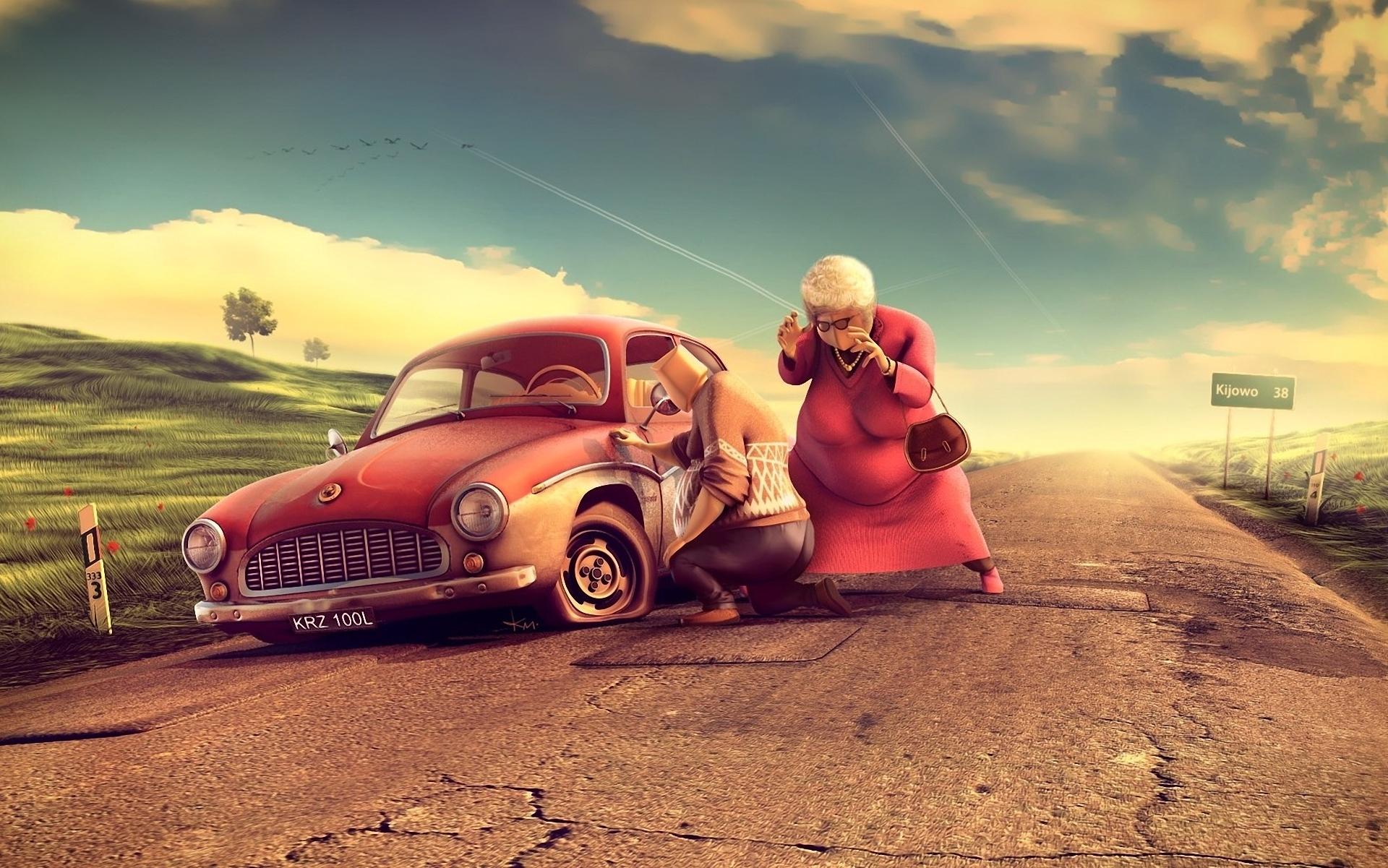 Download Funny 3d Cartoon Wallpapers Hd 1920x1201 63 Funny Car