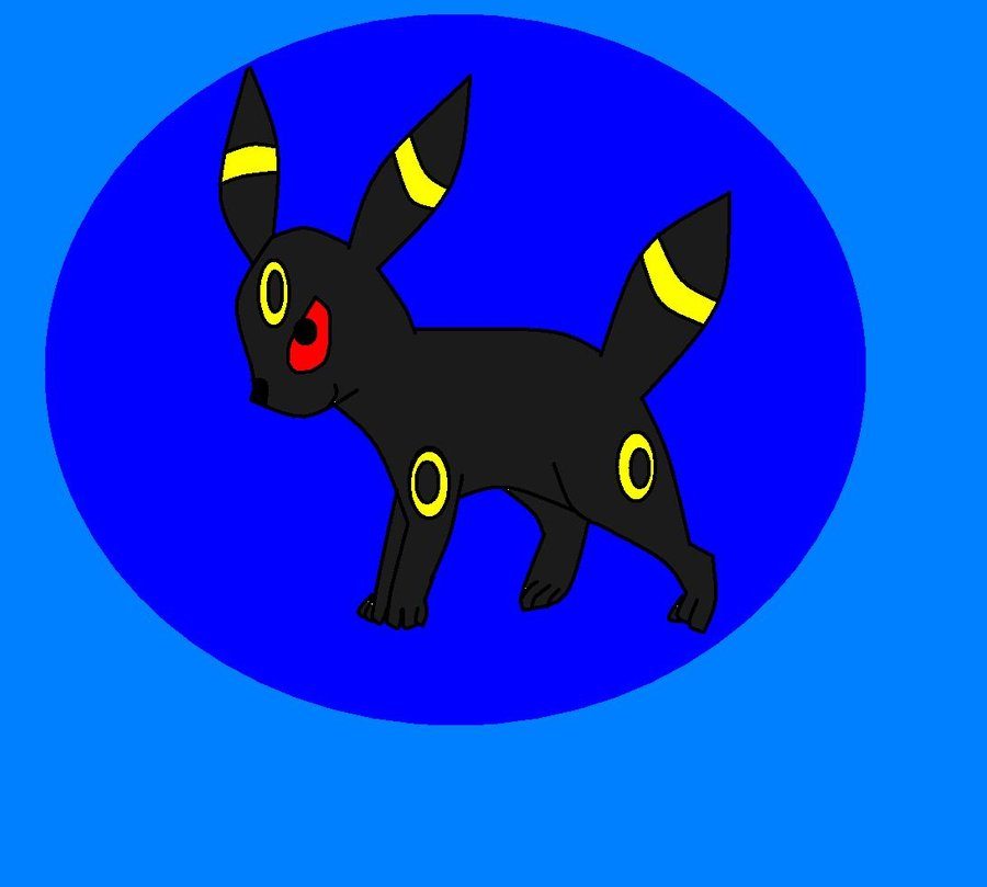 Umbreon The Epic Dark Pokemon by dragonpop1 900x809