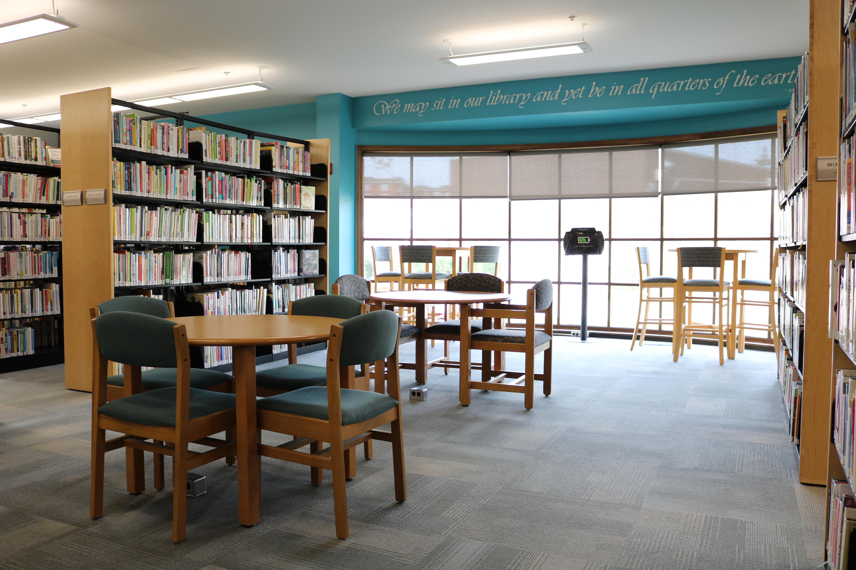 Library Photos for Your Virtual Background Morton Grove Public 6000x4000