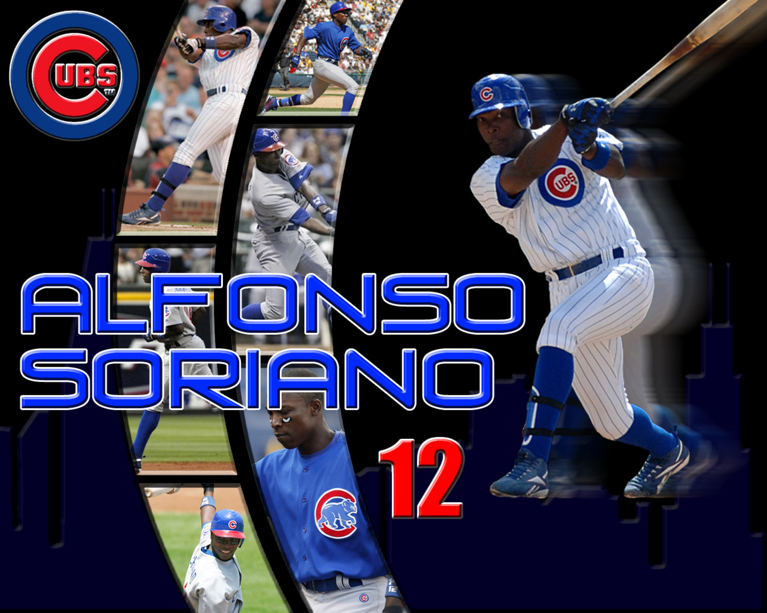 pixel Desktop Wallpapers Alfonso Soriano Chicago Cubs Wallpaper 1500x1200