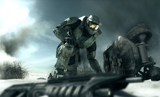 halo 3 wallpaper background bungie microsoft xbox 360 fps first person 640x390